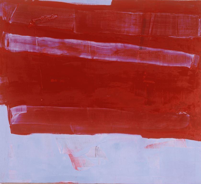 rot 3, 2011, Öl/Lw., 100x90